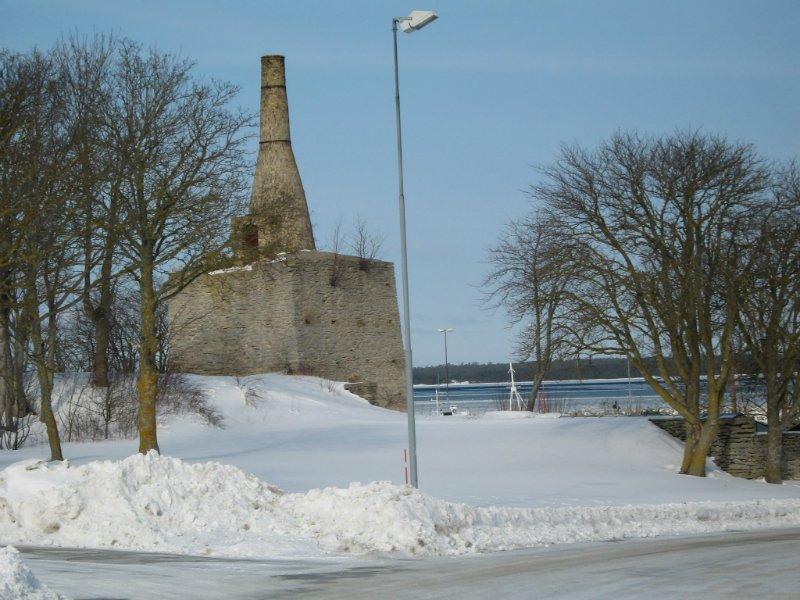Kalkugnen. Foto: Arne Eklund