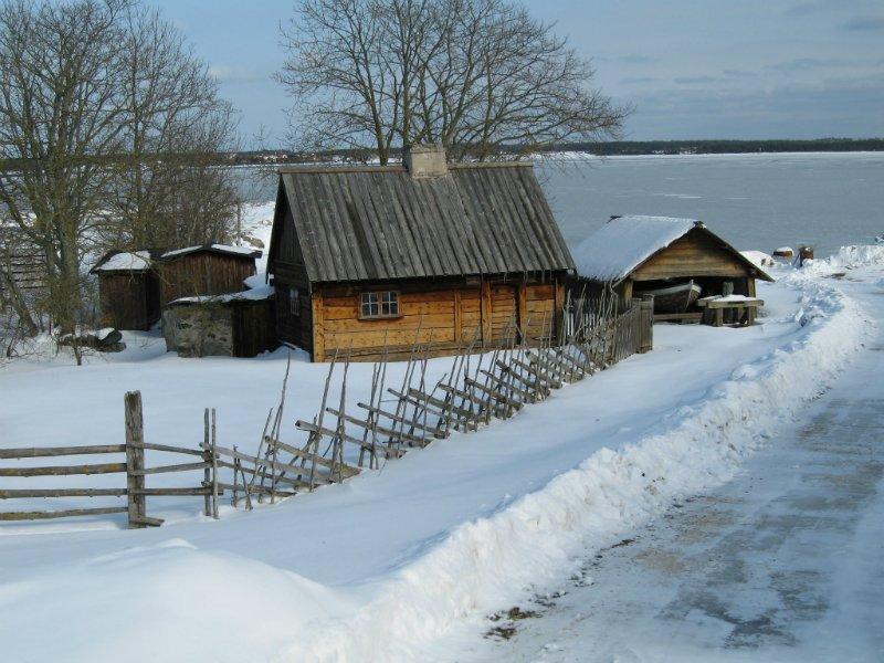 Gamla färjmansbostället. Foto: Arne Eklund
