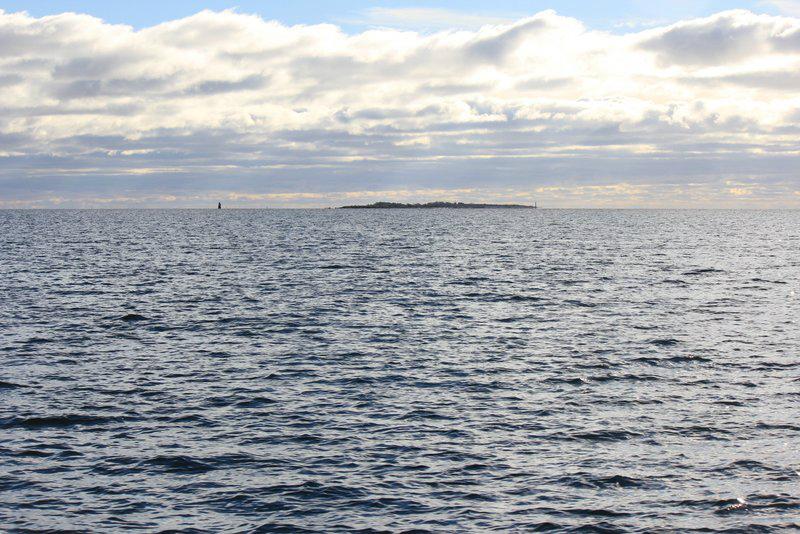 Skarvgrund från färjan. Foto: Arne Eklund